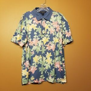 Brooks Brothers | Men's Floral Slim Fit Polo Shirt